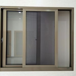 Aluminum Glass Factory In China Sliding Window Rail Door Window Design