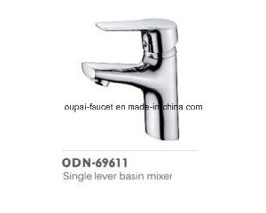 Oudinuo Single Handle Brass Kitchen Faucet 69619-1 pictures & photos