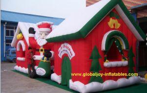 Funny Inflatable Christmas Decorations Christmas House
