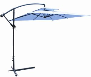 10 Ft X 10 Ft Double Roof Garden Banana Umbrella