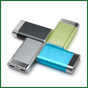 8000mAh Factory OEM Aluminium Portable Mobile Power Bank
