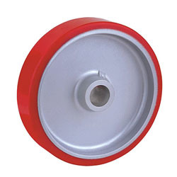 Polyurethane Wheels with Aluminum Center pictures & photos