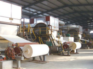 Papermaking Machinery: Single Cylinder Tissue Paper Machine pictures & photos