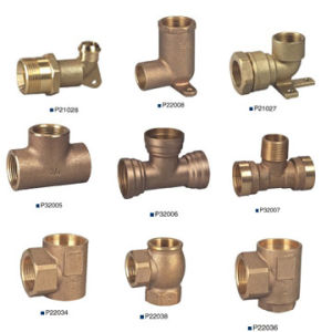 Brass or Bronze Pipe Fitting, Connector pictures & photos