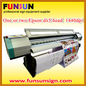 Large Format Flatbed Eco Solvent Printer (1.8m, dx5 head 1440dpi, promotion price) pictures & photos