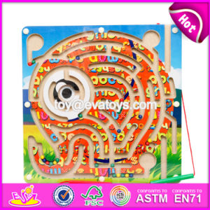 New Products Kids Educational Toy Wooden Magnetic Maze Game W11h021 pictures & photos