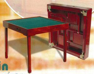 China Collapsible Rosewood Bridge Mahjong Table China