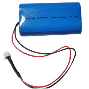 Li-ion 18650 2200mAh 7.4V Rechargeable Battery Pack