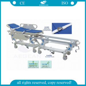 Medical Connecting ICU System Transport Stretcher (AG-HS003) pictures & photos