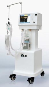 Ce Approved ICU Ventilator with Air Compressor (AJ-2208) pictures & photos