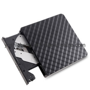 Diamond Shape USB3.0 External Portable CD DVD Drive Writer Burner