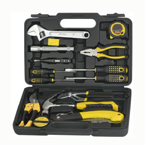 14 Pieces Home Use General Function Tool Box Kit Set