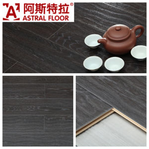 AC3/AC4 Waterproof (U-groove) Wave Embossed Surface Oak Laminate Flooring (AB9922) pictures & photos