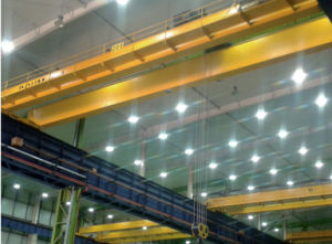 Travelling Bridge Crane Double Beam Overhead Crane Price pictures & photos
