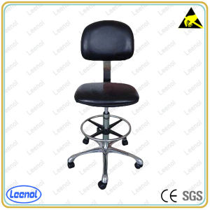 Ln-5161A ESD Safe Polyurethane Bench Height Adjustable Cleanroom Chair pictures & photos