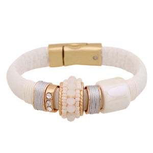 Imitation Fashion Jewellery PU Leather Bracelet