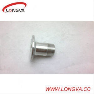 Stainless Steel Sanitary NPT Threaded Male Adapter pictures & photos