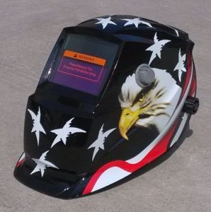 Auto-Darkening Helmet for Welder Protection Eye and Face Ce Approved