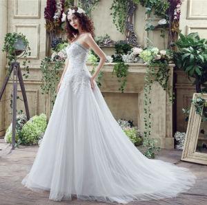 b9c73727d69ed5 China OEM Latest Sex Lace Deep V Neck Fashion Long Tail Wedding ...