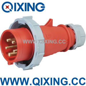 5pin 125A IP67 Industrial Plug for Distribution Box pictures & photos