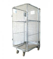 Warehouse Steel Wire Mesh Roll Cage pictures & photos