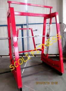 Commercial Gym Fitness Pendulum Smith Power Rack