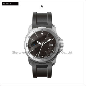 High Level Sport Automatic Business Stainless Steel Men′s Wrist Watch pictures & photos