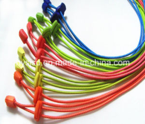 High Quality Elastic Lock No Tie Shoelace pictures & photos