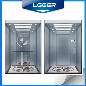Lgeer Passenger Goods Car Elevator /Lift with Energy Saving