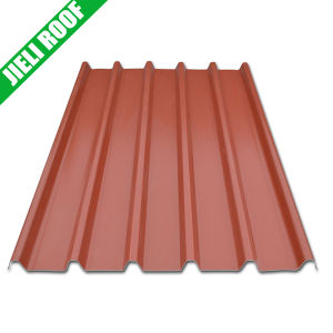 Weather Proof Terrocotta 3 Layers UPVC Roof Sheet pictures & photos
