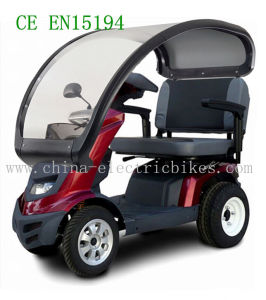 4 Wheel Electric Mobility Scooters with Top, 48V/100ah Battery (LN-011) pictures & photos