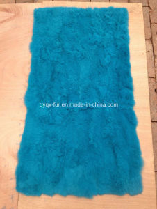 Customized Size and Color 100% Real Rex Rabbit Fur Plate
