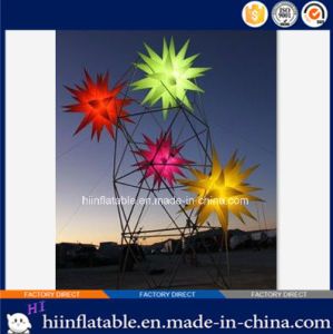 2015 Best Desgn LED Lighting Stage, Event, Party Ceiling Decoration Inflatable Star 002