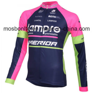 2016 Team Lampre Long Sleeve Cycling Jersey pictures & photos