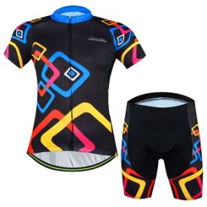 Cycling Short Sleeve Clothing with Shorts pictures & photos