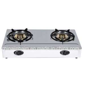 2 Burner 115 Burner Stainless Steel Top Gas Cooker pictures & photos
