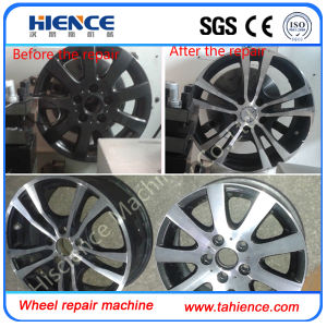 Car Alloy Wheel Repair Diamond Cut Rim Refurbishment Machine Awr2840PC pictures & photos