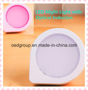 Energy-Saving LED Night Light Plugged Creative Intelligent Optical Control Sensor pictures & photos