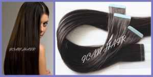 Aaaaa Grade Top Quality Virgin Human Hair Tape Hair Extension