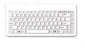 Slim Wired Keyboard With Scissor Type Keyboard Structure (X2)