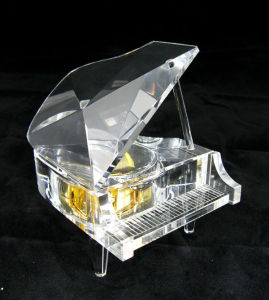 Clear Crystal Piano for Wedding Giftsand Birthday Gifts (KS03035) pictures & photos