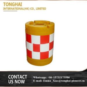Water Filled Road Barriers Plastic Traffic Warning Barrel