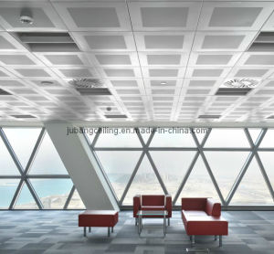 Aluminum Metal Suspended False Decorative Exposed Indoor Lay in Ceiling