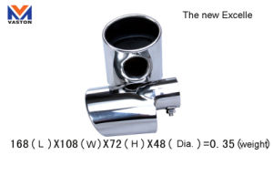 Exhaust/Muffler Pipe for Auto/New Excell, Made of Stainless Steel 304b pictures & photos