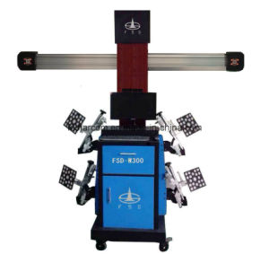 No Push Cart Type 3D Four Wheel Positioning Instrument: Fsd-300A pictures & photos