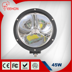 "45W Round 7"" 3200lm Auto LED Light pictures & photos"