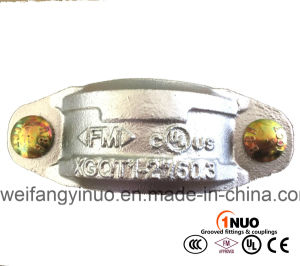 Hot Galvanized Ductile Grooved Fittings and Coupling with FM/UL Approval pictures & photos
