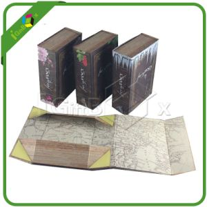 Assembled Flat Pack Foldable Paper Box with Magnetic Closure pictures & photos