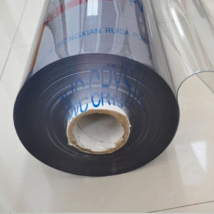 Super Clear Transparent Soft PVC Sheet in Rolls pictures & photos
