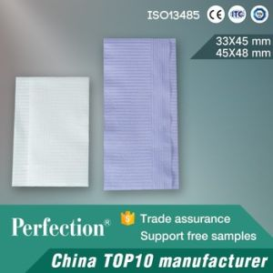2 Ply Paper and 1 Ply Film High Quality Dental Napkin pictures & photos